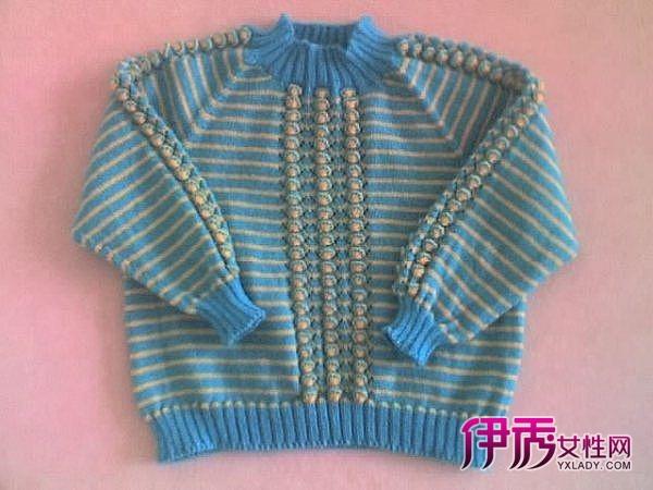 棒针毛衣外套,棒针毛衣编织图解-贝壳花