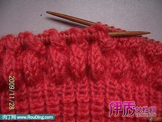 女儿童毛衣编织花样图解,毛线编织图案
