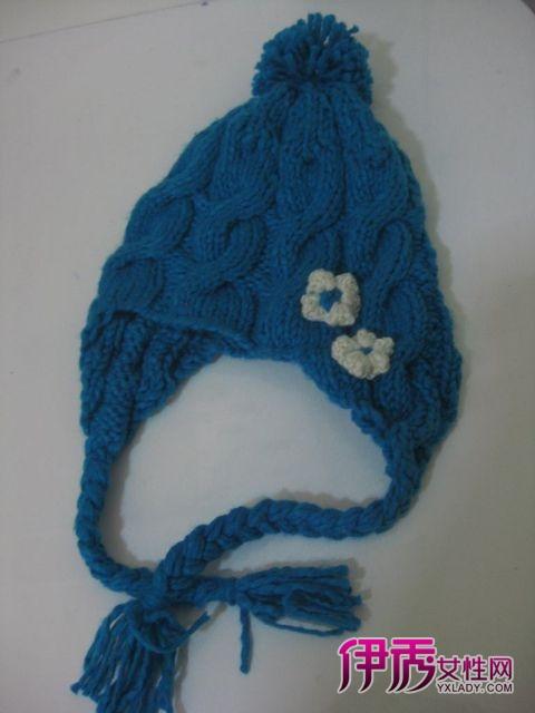 毛线帽子编织-麻花帽子钩织图解