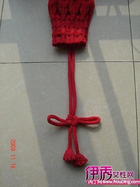 钩织小袋子步骤的图片
