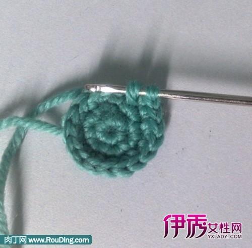 钩针编织教程--小篮子(发过程图咯)(第1页)