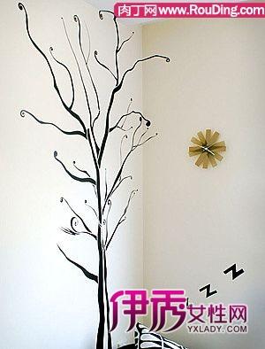 创意手绘墙画素材时尚手绘墙画素材 国外创意手绘墙画 图片