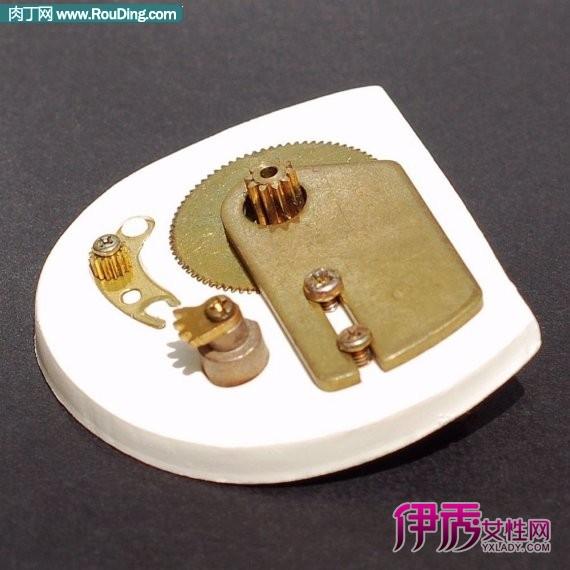废弃电子元器件,就金属手工制作创意胸针diy