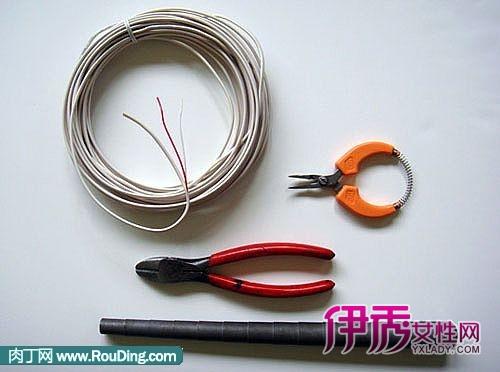 个性创意电线戒指diy手工制作图解