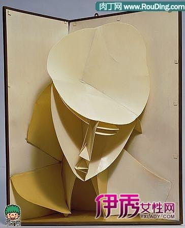 纸板雕塑-构成主义艺术创想