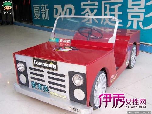 手工制作的小汽车全过程-牛人的diy动力童车(第1页)