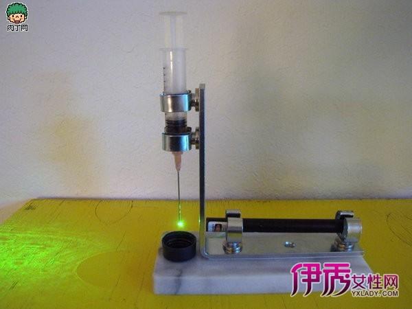 教你利用激光束制作简易显微镜