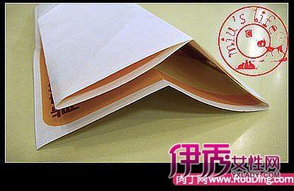 长方形折纸盒的折法