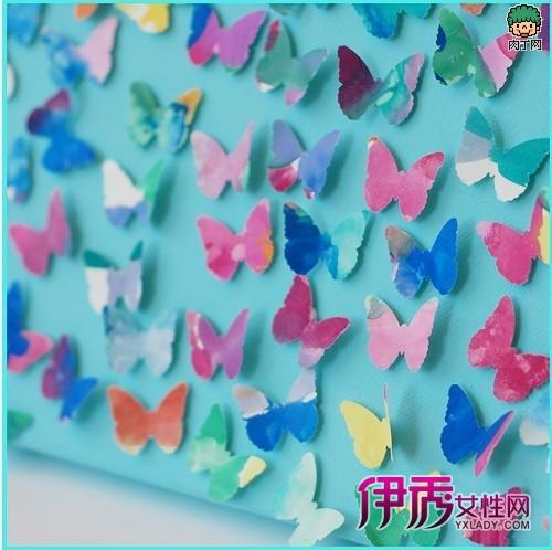 儿童手工—装饰立体手工折纸蝴蝶的制作