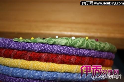 绳子和碎布头手工制作创意布艺杂物筐diy