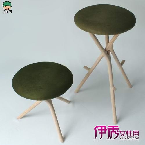 树叶铝合金创意椅子