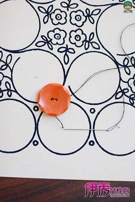 可爱的自制相框-巧手diy手工制作布艺相框