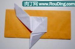 信纸的折叠教程--方形