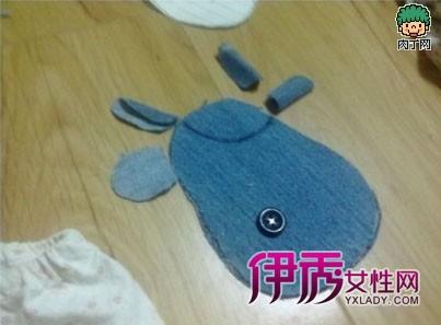 废旧衣物手工制作布艺可爱的动物钥匙包