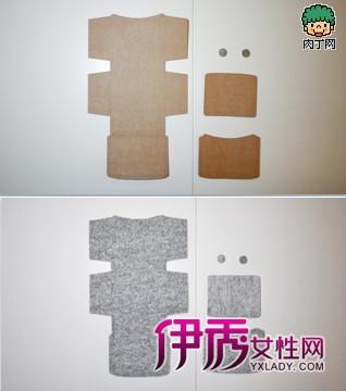 布艺零钱包DIY教程图解-简单的布艺零钱包DIY教程图片