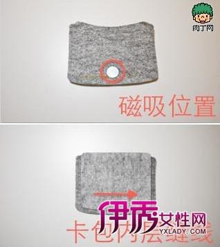 布艺零钱包DIY制作过程-简单的布艺零钱包DIY教程图片
