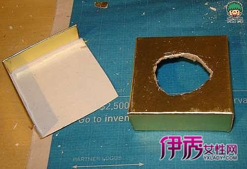 台灯手工制作方法; 找一个简单好看的小盒子作为小