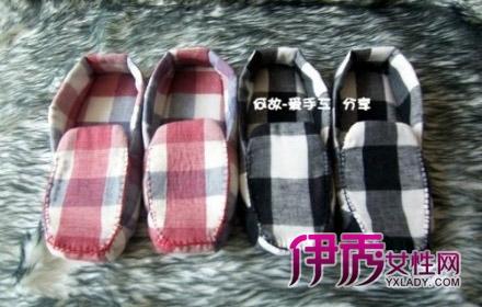 布艺鞋子diy教程 教你制作纯手工布鞋