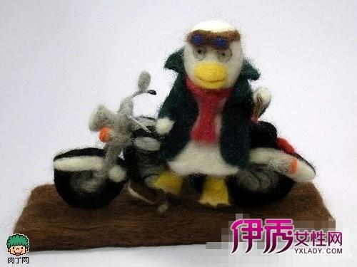 日本大师羊毛毡手工创意制作