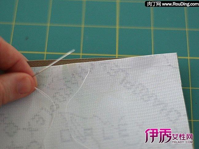 自制笔袋教程 简单笔袋的diy制作图解