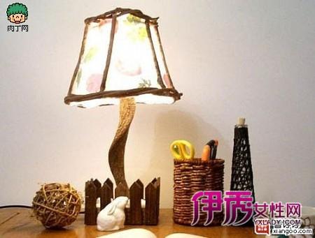 diy手工制作台灯和手工制作灯罩教程个性的很