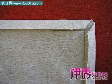 手工制作简单大方的布艺手帕
