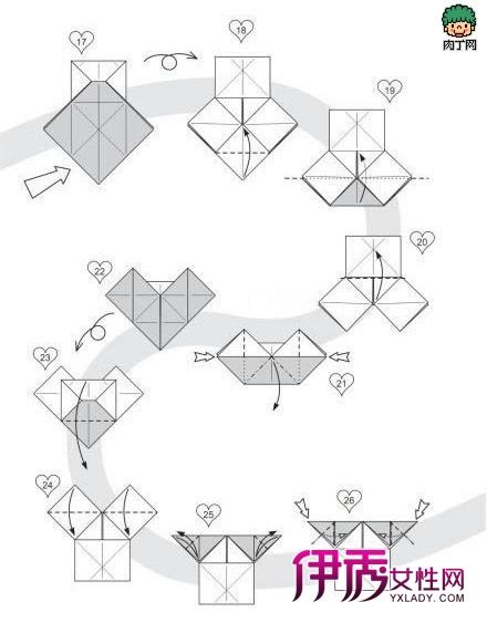 人民币折纸大全图解爱心折纸大全 竖