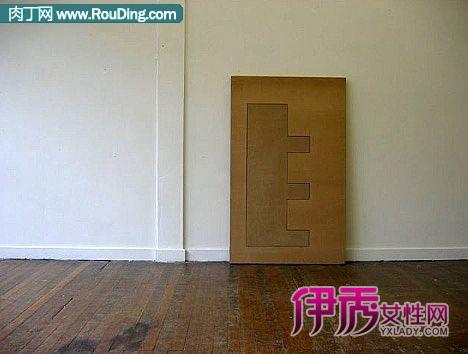 多功能折叠纸板家具-瓦楞纸制家具,纸板做家具作品合集