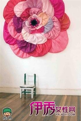 花朵吊顶制作方法图解-程 缎带玫瑰花做法