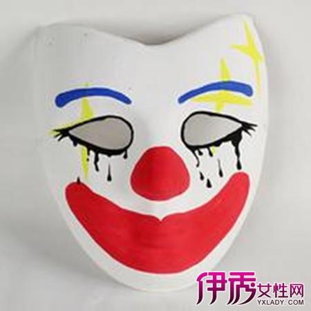 【图】小丑手绘面具设计图大全 3个方法教你自己做成最酷小丑面具