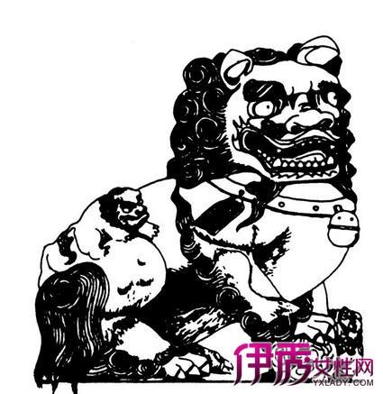 【手绘石狮子】【图】手绘石狮子图片汇总