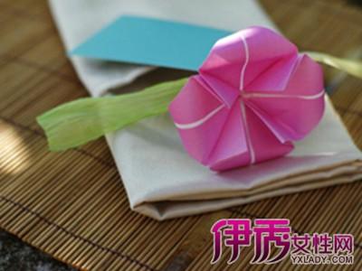 【图】各种折纸花步骤图