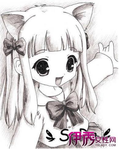 【日本动漫铅笔手绘】【图】日本动漫铅笔手绘图片