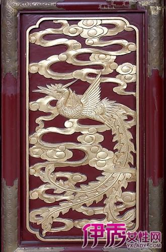 【图】凤凰木雕窗花 精细木工慢工出细活