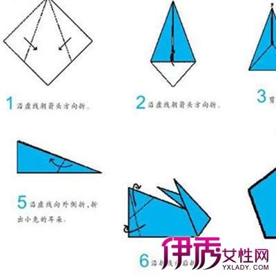 【儿童手工折纸兔子】【图】儿童手工折纸兔子教程