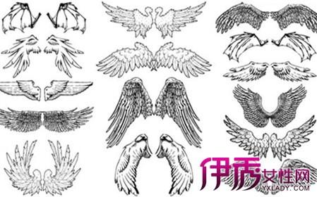 【图】手绘天使翅膀欣赏