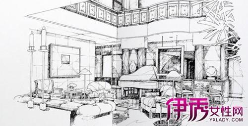 【图】室内设计图片手绘大全 满足人们物质和精神生活需要