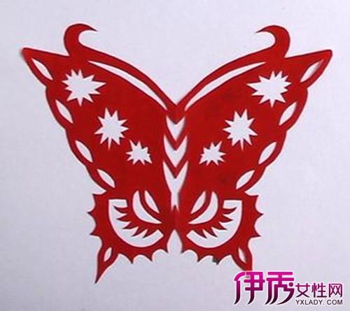 盘点剪纸蝴蝶的半边画法 6步画出完美蝴蝶