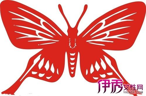 【剪纸蝴蝶的半边画法】【图】盘点剪纸蝴蝶的半边
