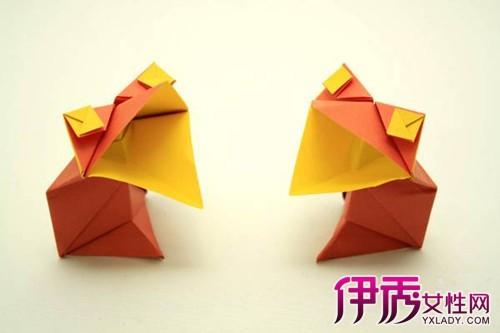 【儿童折纸图解青蛙】【图】儿童折纸图解青蛙