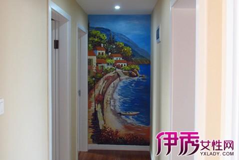 【图】海量墙画手绘风景图片, 简单步骤保你一学就会