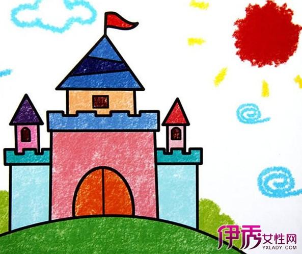 【图】漂亮的城堡绘画照片 见识异域风情
