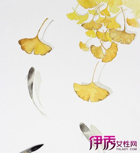 【图】彩铅手绘银杏大全 6个技巧教你画出逼真银杏