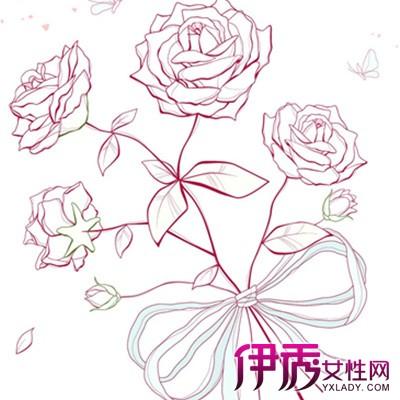 【图】欣赏手绘的玫瑰素材图片