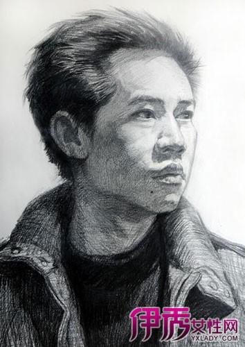 人物头部绘画素描图片 五步教会你如何写生人物头像