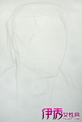 人物头部绘画素描图片 五步教会你如何写生人物头像图片
