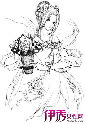 【图】日系古风手绘图汇总 手绘上色技巧介绍