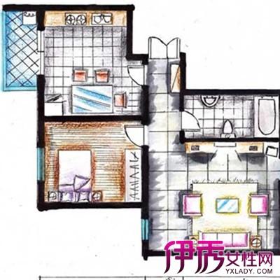 【图】室内俯视手绘设计图曝光 6个方面学会设计手绘图