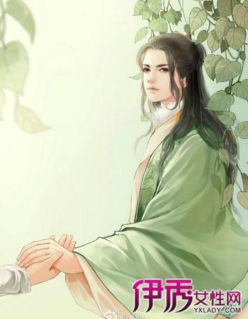 【图】手绘古风美男高清无码 华丽辞藻描绘俊美男子