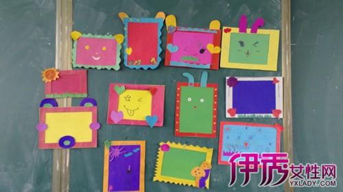 【图】手工卡纸相框照片墙如何制作